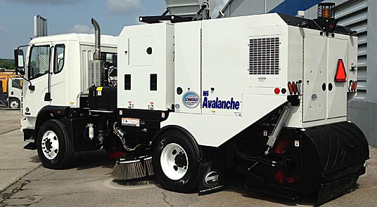 Avalanche street sweeper
