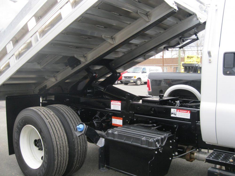 Truckbed hoisted