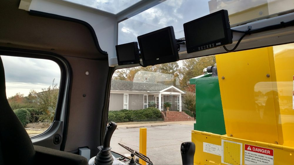 AWC front seat controls