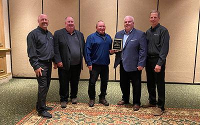 H.A. DeHart & Son Wins Award